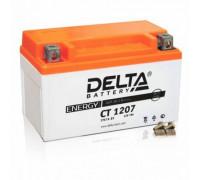 Мото аккумулятор Delta 7 Ач 150x86x94