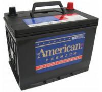 Автомобильный аккумулятор  American 55 Ач 238x129x227