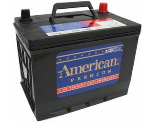 Автомобильный аккумулятор  American 55 Ач