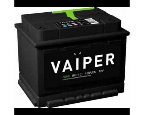 Автомобильный аккумулятор  Vaiper 60 Ач