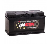 Автомобильный аккумулятор  Ecostart 100 Ач 353x175x190