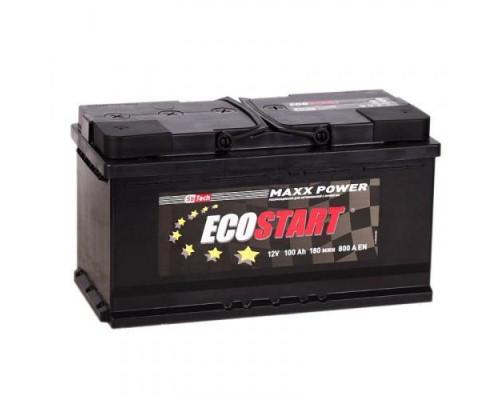Автомобильный аккумулятор  Ecostart 100 Ач