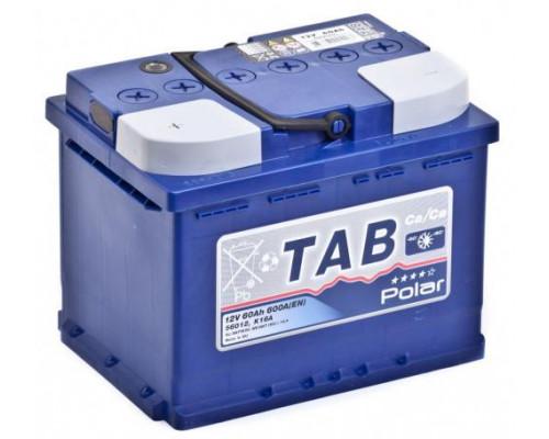 Автомобильный аккумулятор  Tab 60 Ач