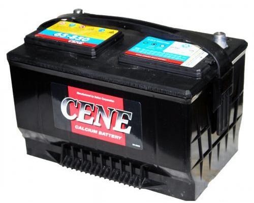 Автомобильный аккумулятор  Cene 85 Ач