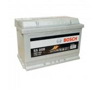 Автомобильный аккумулятор  Bosch 77 Ач 278x175x190
