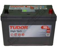 Автомобильный аккумулятор  Tudor 95 Ач 306x173x225