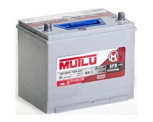 Автомобильный аккумулятор  Mutlu 80 Ач
