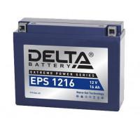 Мото аккумулятор Delta 16 Ач 205x70x162
