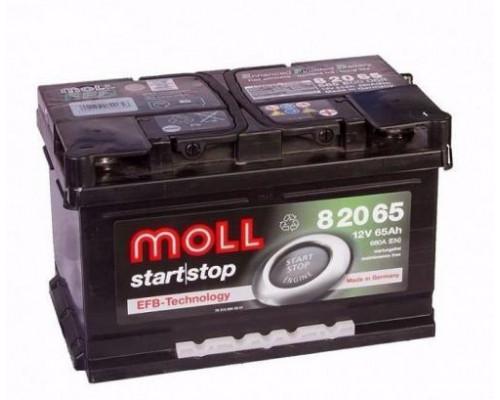 Автомобильный аккумулятор  Moll 65 Ач