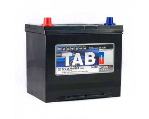 Автомобильный аккумулятор  Tab 65 Ач