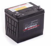 Автомобильный аккумулятор  Delkor 65 Ач 225x229x172