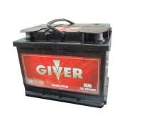 Автомобильный аккумулятор  Giver 55 Ач 242x175x190