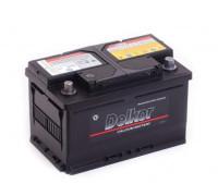 Автомобильный аккумулятор  Delkor 65 Ач 279x175x175