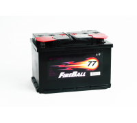 Автомобильный аккумулятор  Fire Ball 77 Ач 278x175x190