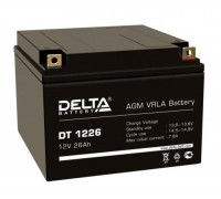 Аккумулятор Delta DT 1226 (12 вольт 26 ампер)
