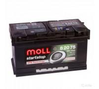 Автомобильный аккумулятор  Moll 75 Ач 315x175x175