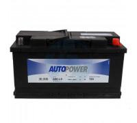 Автомобильный аккумулятор  Autopower 90 Ач 353x175x190