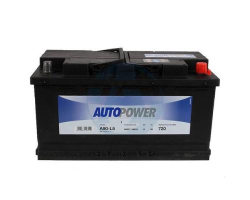 Автомобильный аккумулятор  Autopower 90 Ач