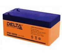 Аккумулятор Delta DTM 12032 (12 вольт 3.3 а.ч)
