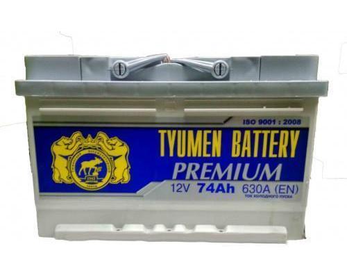 Автомобильный аккумулятор  Тюмень 74 Ач