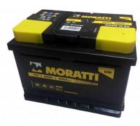 Автомобильный аккумулятор  Moratti 60 Ач 242x175x175
