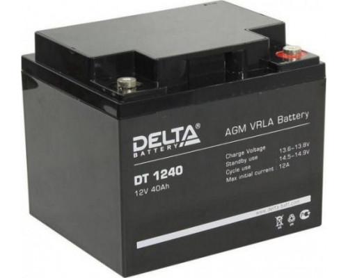 Автомобильный аккумулятор  Delta 40 Ач