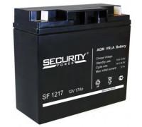 Аккумулятор для ИБП/UPS Security Force SF 1217 (12 вольт 17 а.ч)