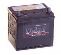 Автомобильный аккумулятор  Delkor 60 Ач 205x173x205