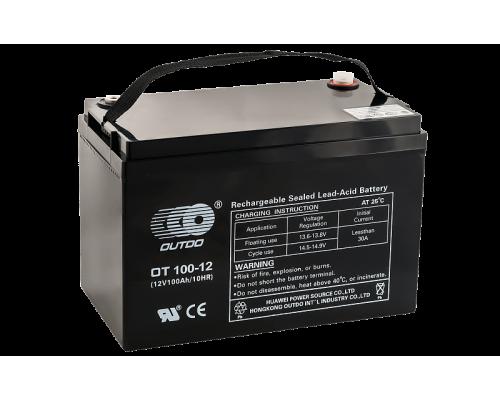 Аккумулятор OUTDO VRLA 12100 (12 вольт 100 а.ч)