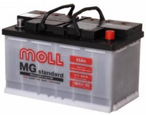 Автомобильный аккумулятор  Moll 95 Ач