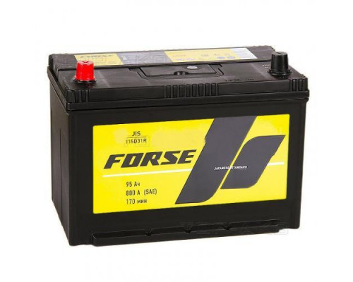 Автомобильный аккумулятор  Forse 95 Ач