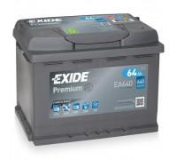 Автомобильный аккумулятор  Exide 64 Ач 242x175x190