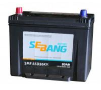 Автомобильный аккумулятор  Sebang 80 Ач 260x170x225