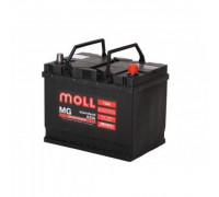 Автомобильный аккумулятор  Moll 75 Ач 250x170x220