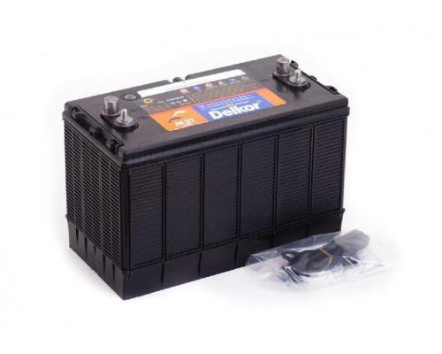 Автомобильный аккумулятор  Delkor 100 Ач
