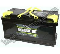 Автомобильный аккумулятор  Dominator 100 Ач 353x175x175