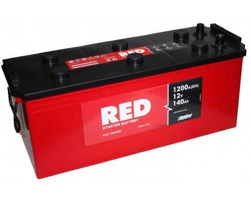 Грузовой аккумулятор Red 140 Ач