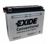 Мото аккумулятор Exide 16 Ач 206x72x164