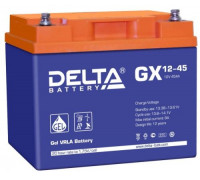 Автомобильный аккумулятор  Delta 45 Ач 197xx170