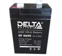 Аккумулятор Delta DT 4045 ( 4 вольт 4.5 ач)
