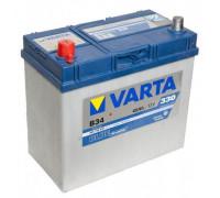 Автомобильный аккумулятор  Varta 45 Ач 238x129x227