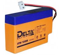 Аккумулятор Delta DTM 12008 (12 вольт 0.8 ач)