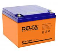 Аккумулятор Delta DTM 1226 (12 вольт 26 ач)