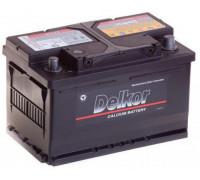 Автомобильный аккумулятор  Delkor 75 Ач 279x175x175