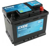 Автомобильный аккумулятор  Exide 60 Ач 242x175x190