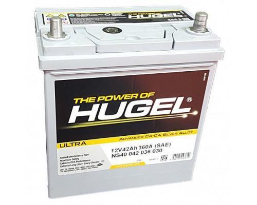 Автомобильный аккумулятор  Hugel 42 Ач