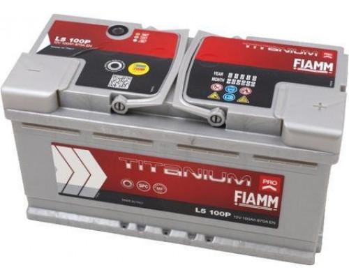 Автомобильный аккумулятор  Fiamm 100 Ач