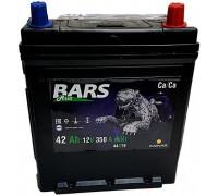Автомобильный аккумулятор  Bars 42 Ач 129x187x220