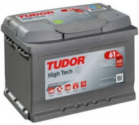 Автомобильный аккумулятор  Tudor 61 Ач 242x175x175