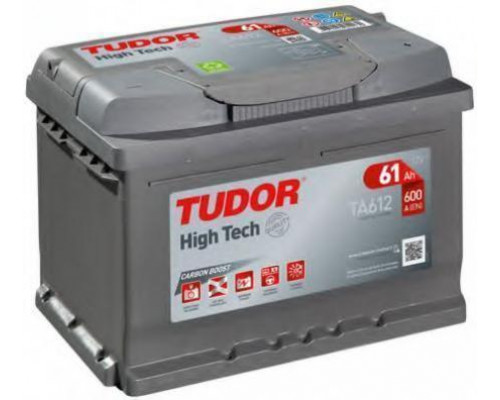 Автомобильный аккумулятор  Tudor 61 Ач